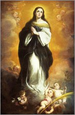 Gallery print  The Immaculate Conception - Bartolome Esteban Murillo