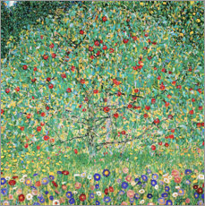 Foam board print  Apple Tree I - Gustav Klimt