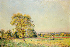 Gallery print  A Summer's Day, 1886 - Alfred Sisley