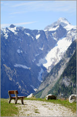Wall sticker  Peace in the Alps - Jens Berger
