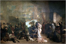 Gallery print  L'Atelier - Gustave Courbet