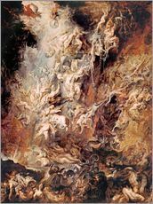 Gallery print  The Descent into Hell of the Damned - Peter Paul Rubens