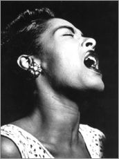 Wall sticker  Billie Holiday