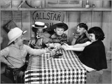 Gallery print  Silent Film: Little Rascals