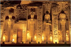 Wall sticker  Temple of Abu Simbel - Miva Stock
