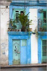 Wall sticker  House facade in Havana - Walter Bibikow