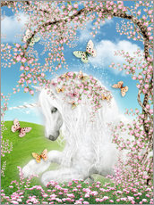 Wall sticker  Dreamy unicorn - Dolphins DreamDesign
