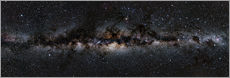 Wall sticker  Milky way panorama - Jan Hattenbach