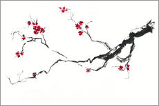 Wall sticker  Cherry blossom - Jitka Krause