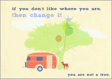 Gallery print  You are not a tree - Elisandra Sevenstar