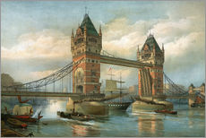 Gallery print  Tower Bridge, London - English School