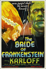 Gallery print  The Bride of Frankenstein