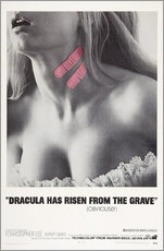 Gallery print  Dracula has risen from the grave