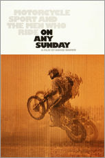 Gallery print  ON ANY SUNDAY, 1971.