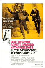 Wall sticker  Butch Cassidy and the Sundance Kid