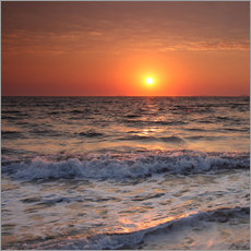 Gallery print  Sunset at the sea - Filtergrafia