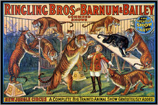 Gallery print  Circus poster from 1920