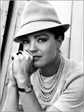 Wall sticker  Romy Schneider