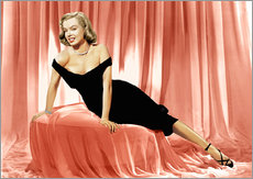 Gallery print  Marilyn Monroe in a cocktail dress