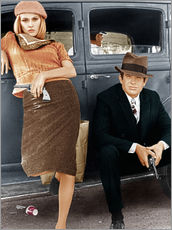 Wall sticker  Bonnie and Clyde