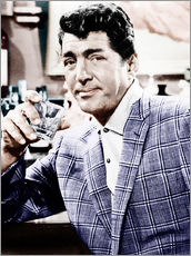 Gallery print  Dean Martin in a plaid jacket