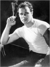 Wall sticker  Marlon Brando