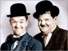 Wall Stickers  Stan Laurel & Oliver Hardy