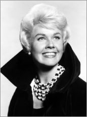 Wall sticker  Doris Day, early 1960s