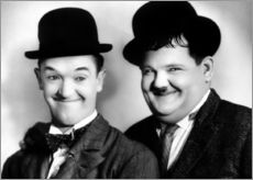 Gallery print  Laurel & Hardy