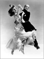 Gallery print  Rita Hayworth and Fred Astaire