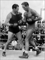 Gallery print  Jack Dempsey and Max Baer