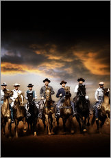 Gallery print  THE MAGNIFICENT SEVEN