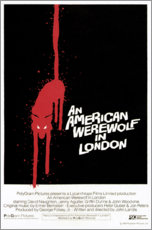 Aluminium print  An American Werewolf in London