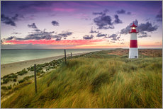 Gallery print  Lighthouse List East (Elbow/Sylt) - Dirk Wiemer