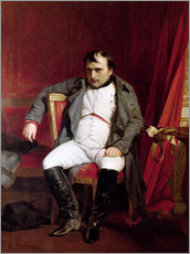Gallery print  Napoleon after his Abdication - Hippolyte Delaroche