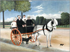 Gallery print  The carriage of Père Junier - Henri Rousseau