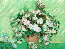 Wall sticker  Roses - Vincent van Gogh
