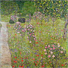 Gustav Klimt - Orchard with roses
