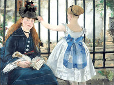 Wall sticker  The Railway - Edouard Manet