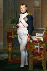 Gallery print  Napoleon in his study at the Tuileries - Jacques-Louis David