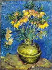 Wall Stickers  Fritillaries in a Copper Vase - Vincent van Gogh