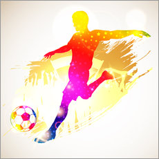 Wall sticker  Football Player - TAlex