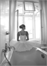 Gallery print  Ballerina the bathroom - Jenny Stadthaus