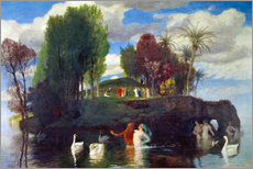 Wall Stickers  Island of the living - Arnold Böcklin