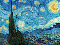 Wall sticker  Starry night - Vincent van Gogh