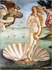 Wall sticker  The Birth of Venus (detail) - Sandro Botticelli