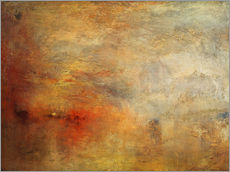 Wall sticker  Sunset over a lake - Joseph Mallord William Turner
