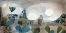 Wall sticker  Oceanic Landscape - Paul Klee