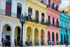 Wall sticker  Colorful facades in Havana - Bill Bachmann