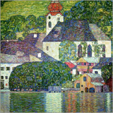 Premium poster  Church in Unterach, Attersee - Gustav Klimt